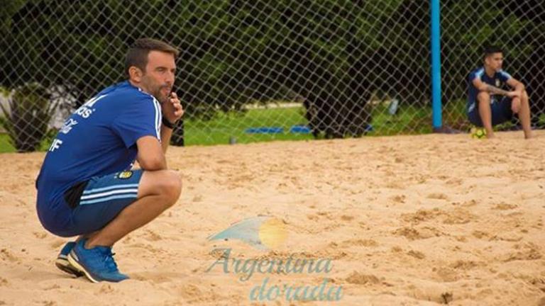 La reinvención del fútbol playa en Argentina