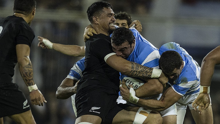 Los All Blacks y una clase abierta de rugby