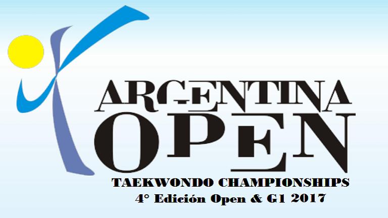 Se viene el 4° Open de taekwondo en Buenos Aires