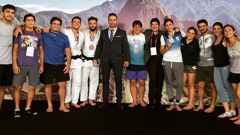 El judo argentino cosechó más medallas