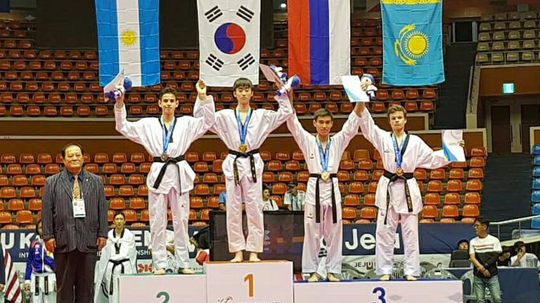Dos medallas para Argentina en el G2 de Jeju