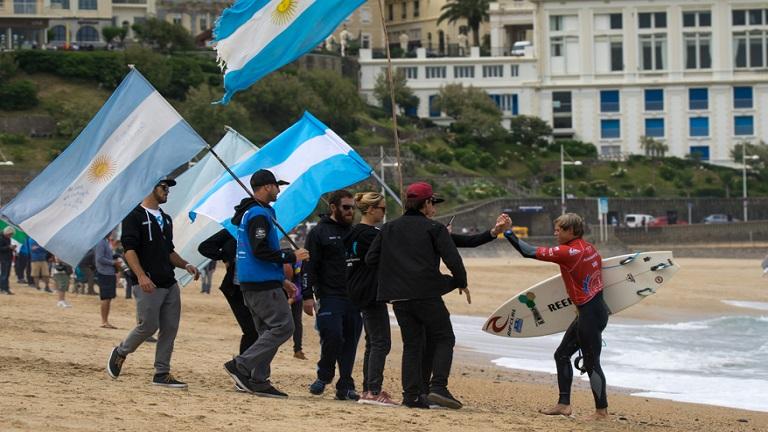 Este año no pudo ser en el ISA World Surfing Games 2017