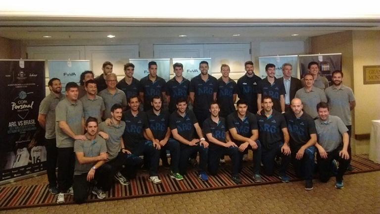 Lanzamiento de la temporada 2016 de la Selección masculina de voley