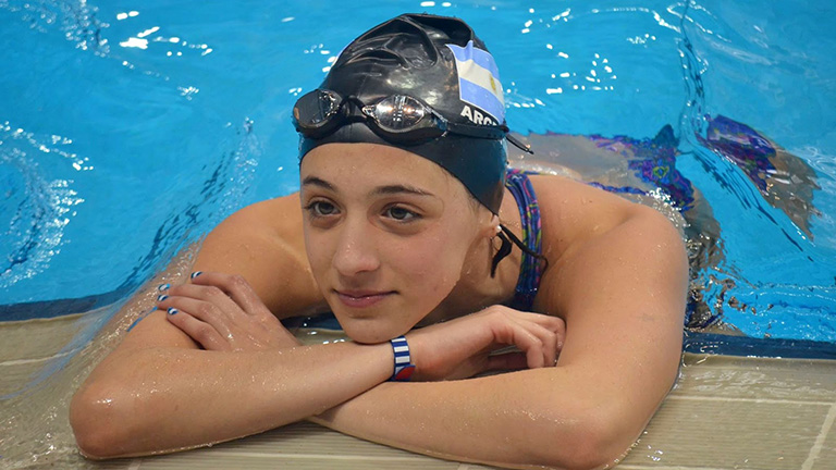 Delfina Pignatiello finalista en el Mundial de Windsor
