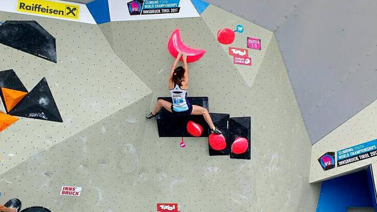 Valentina Aguado clasificó a los Juegos Olímpicos de la Juventud