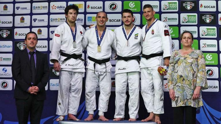 Lucenti ganó la medalla dorada en Cancún
