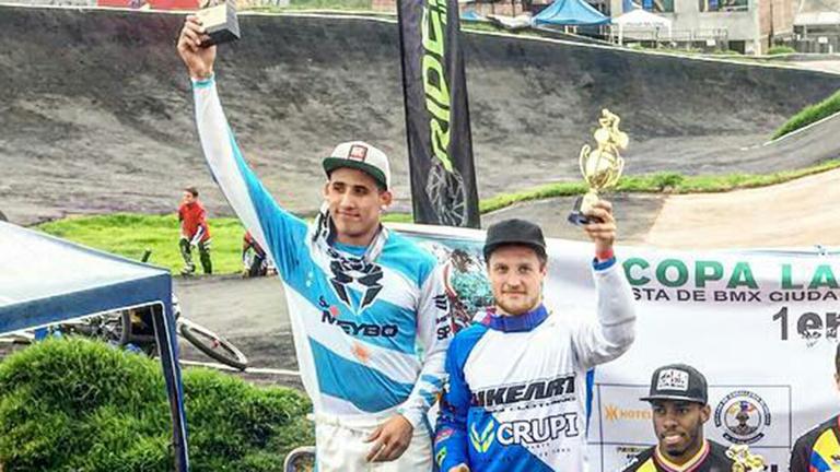 Gran actuación argentina en la Copa Latinoamericana de BMX