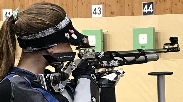 """Alliana Volkart: """"En el tiro deportivo estas aprendiendo todo el tiempo"""""""