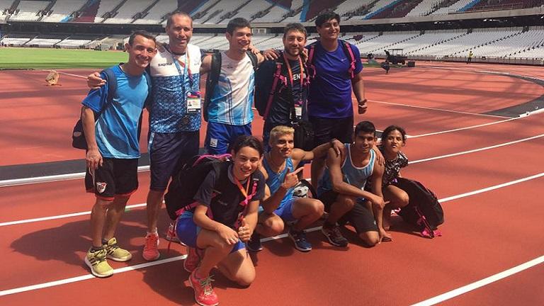 Gran Mundial para los atletas paralímpicos