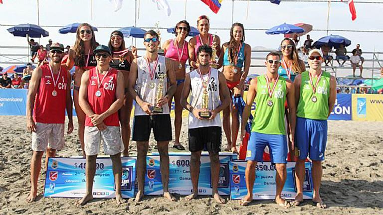 Capogrosso y Azaad campeones en Perú
