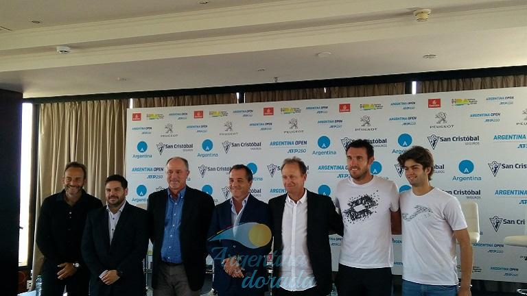 Se presentó el Argentina Open 2019