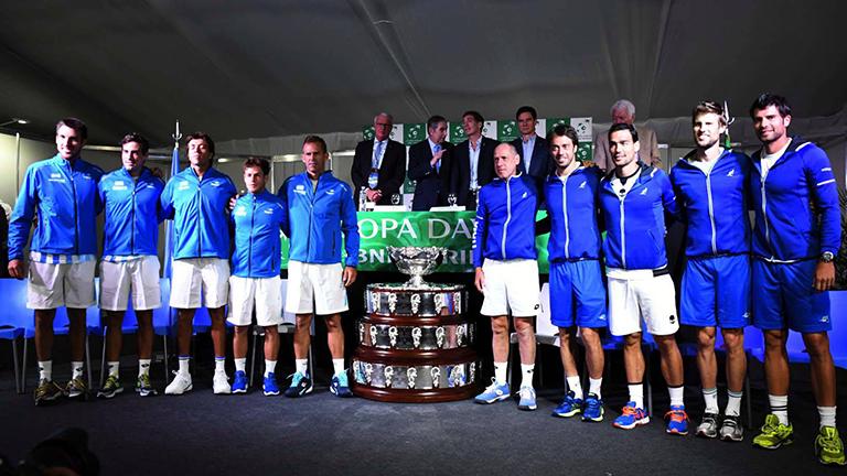 Copa Davis: Argentina quedó eliminada frente a Italia