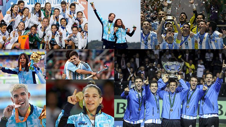 Resumen del deporte argentino en el 2016
