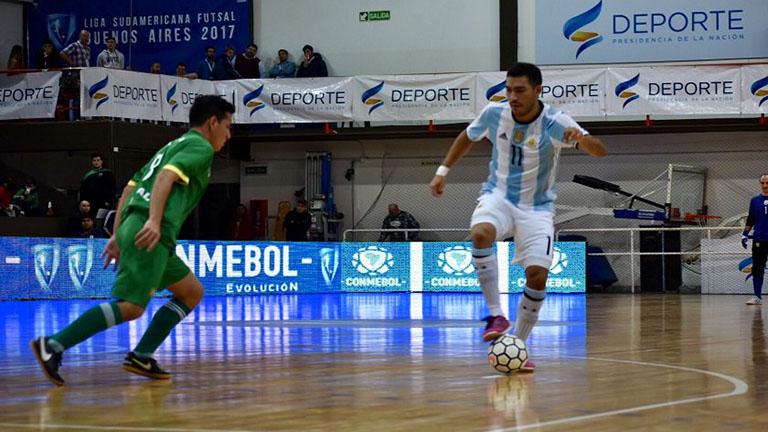 Gran comienzo de argentina en la Liga Sudamericana de Fútsal