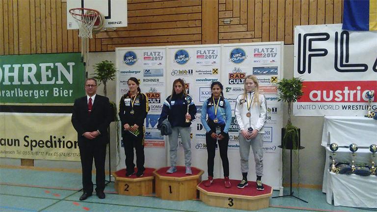 Bermúdez y Sosa alcanzaron el podio en Austria