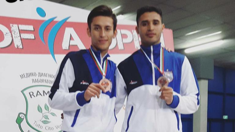 Dos medallas en el Open de Sofía