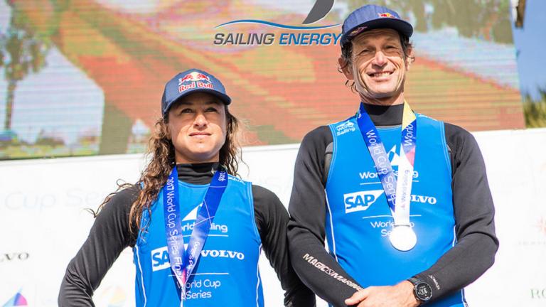 La dupla Lange-Carranza ganó la medalla de plata en Miami