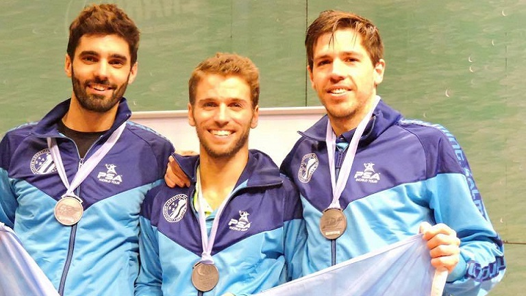 Seis podios en el Panamericano
