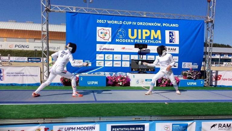 Iryna Khokhlova alcanzó una nueva final de Copa del Mundo
