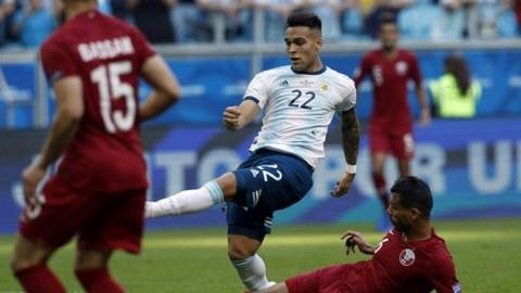 Argentina venció a Qatar y continúa en la Copa América