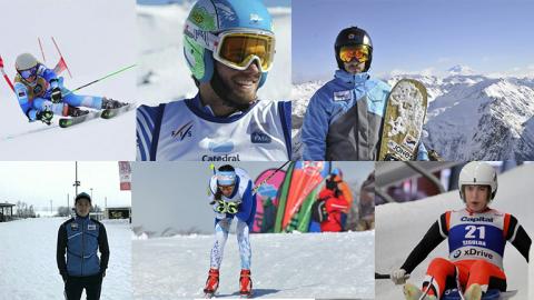 Seis argentinos competirán en PyeongChang