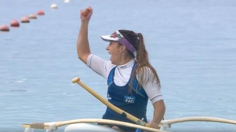 Brenda Sardón ganó la medalla plateada