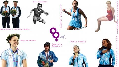 Las deportistas argentinas en los Juegos Olímpicos