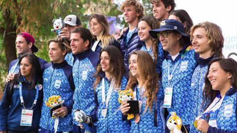 Argentina fue dorada en wakeboard