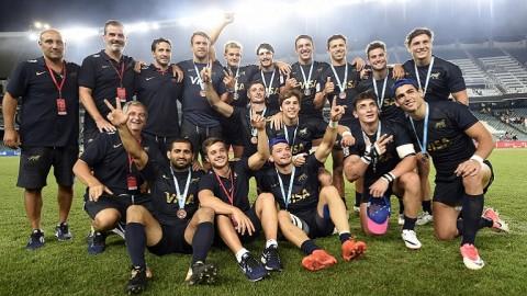 Medalla de bronce para Los Pumas 7s en Sydney