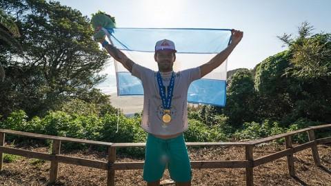 Santiago Muñiz se consagró campeón mundial por segunda vez