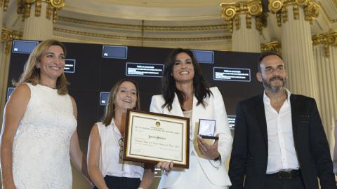 Gabriela Sabatini fue nombrada ciudadana ilustre
