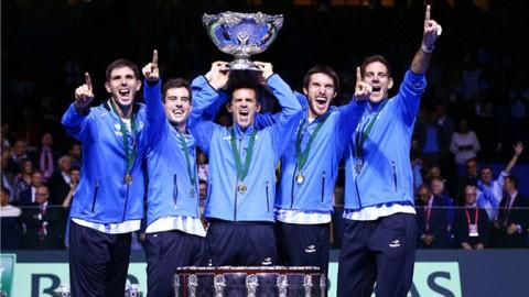 El tenis argentino hace historia: campeón de la Copa Davis por primera vez
