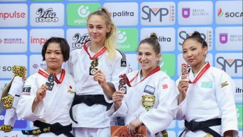 Lo hizo otra vez: medalla de bronce para Pareto en el Mundial de Bakú