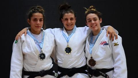14 medallas argentinas en el primer día del Open de Buenos Aires