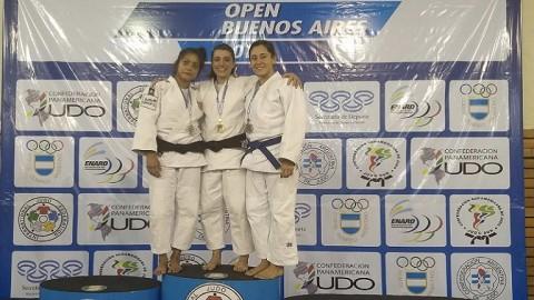 Doce podios argentinos en el Open Panamericano de Buenos Aires