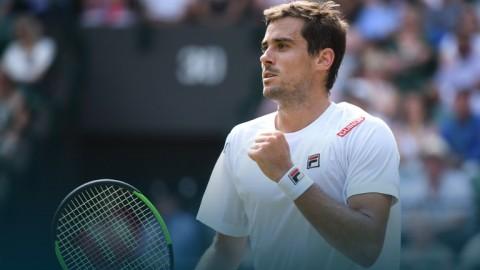 El Wimbledon de Guido Pella terminó en cuartos