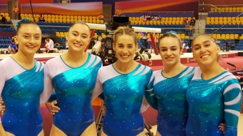 La gimnasia nacional a un paso de un sueño