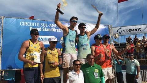 Azaad y Capogrosso campeones sudamericanos