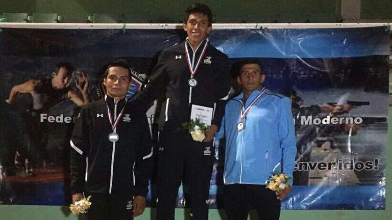 Sergio Villamayor ganó la medalla de bronce en el Panamericano